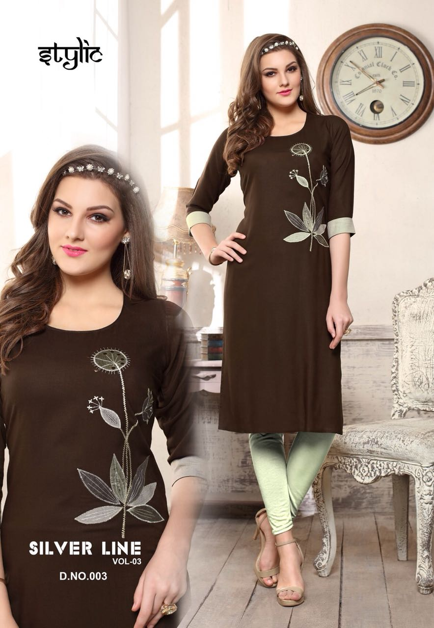 Stylic Silver Line Vol 3 collection 8