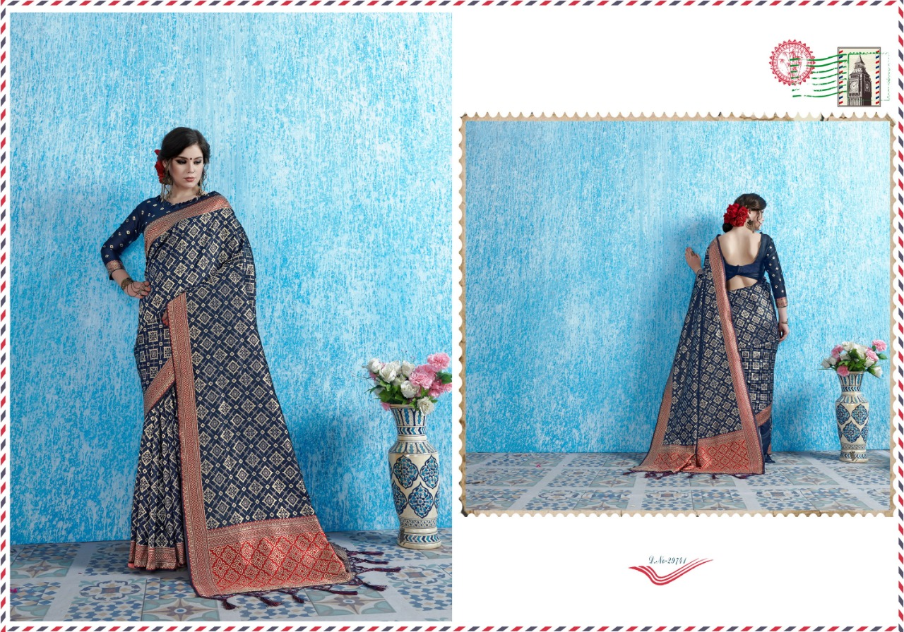 Ynf Viradil Silk Tanchui Silk Festive Wear Saree Collection collection 10