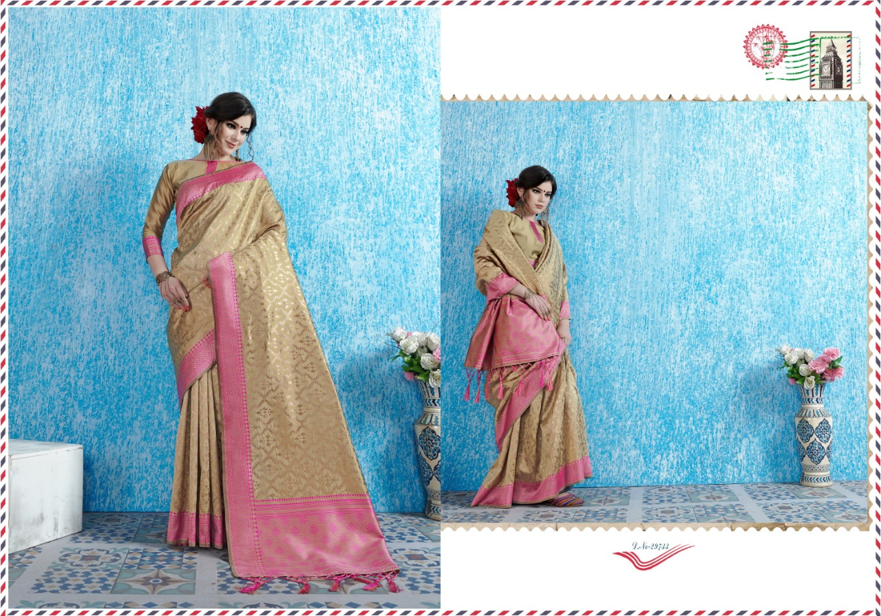 Ynf Viradil Silk Tanchui Silk Festive Wear Saree Collection collection 3