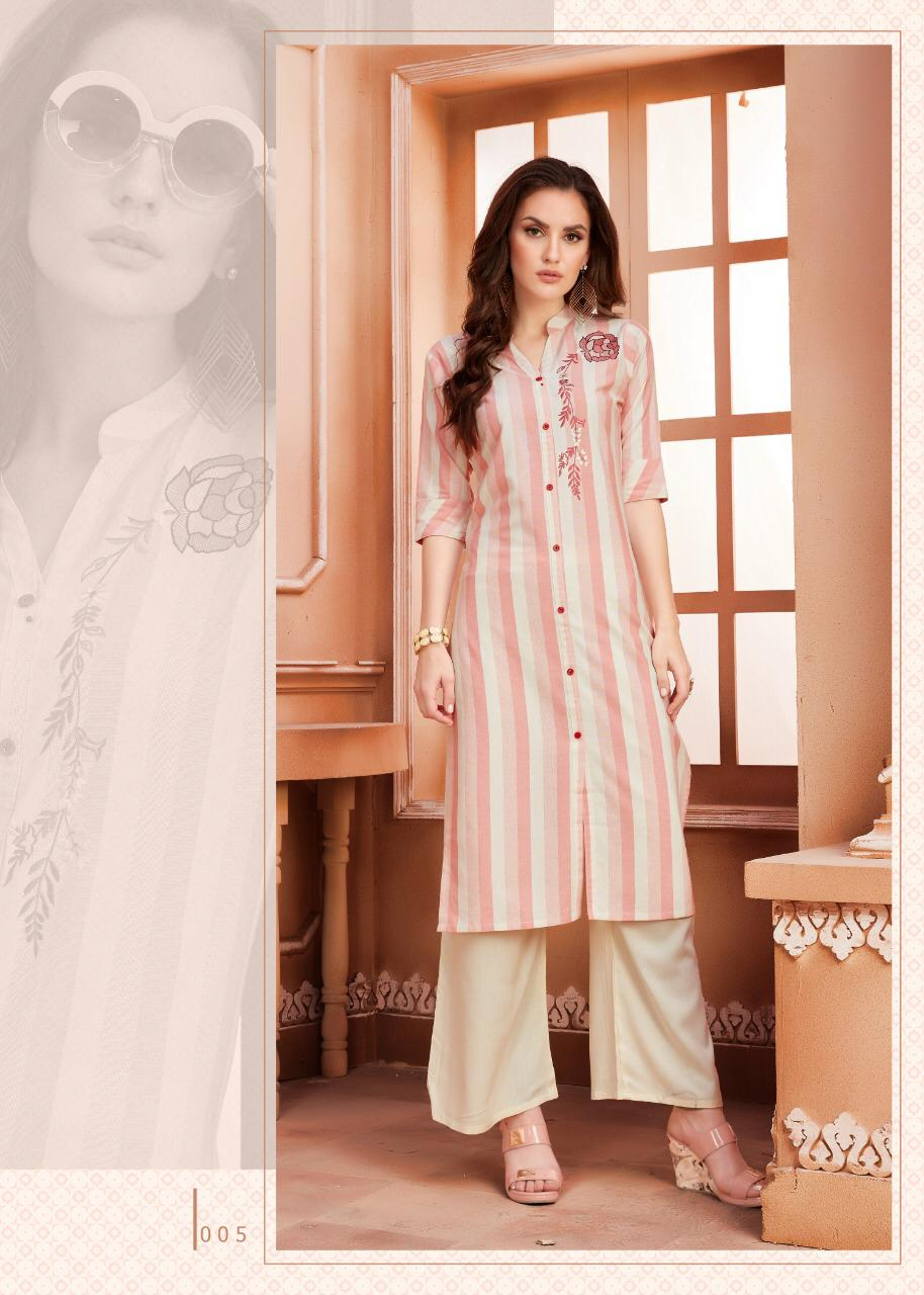 Ayush Indiana Designer Kurti With Plazzo Collection collection 1