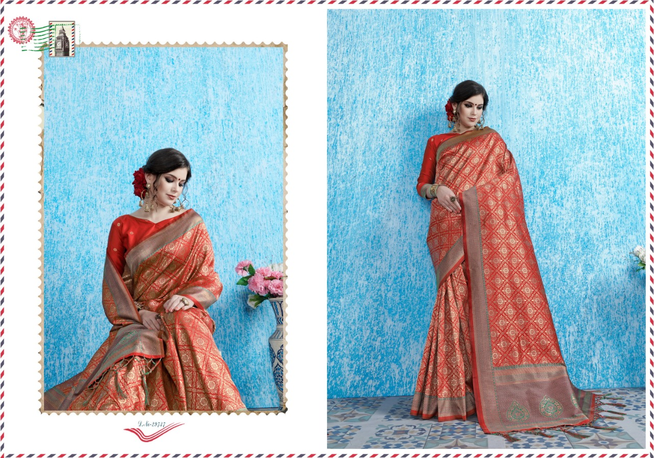 Ynf Viradil Silk Tanchui Silk Festive Wear Saree Collection collection 8