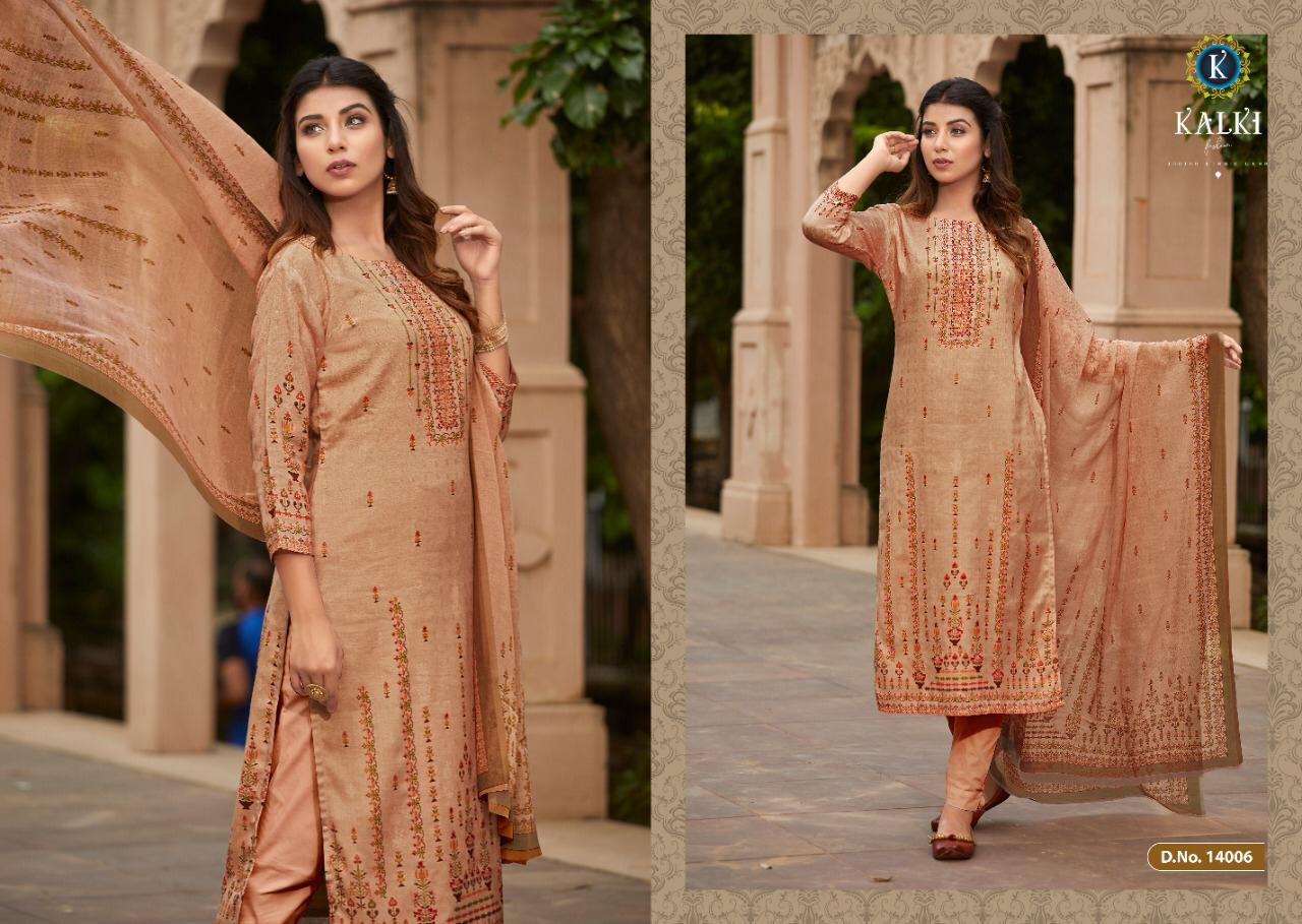 Kalki Shikara Pure Pashmina Designer Salwar Suit Collection collection 11