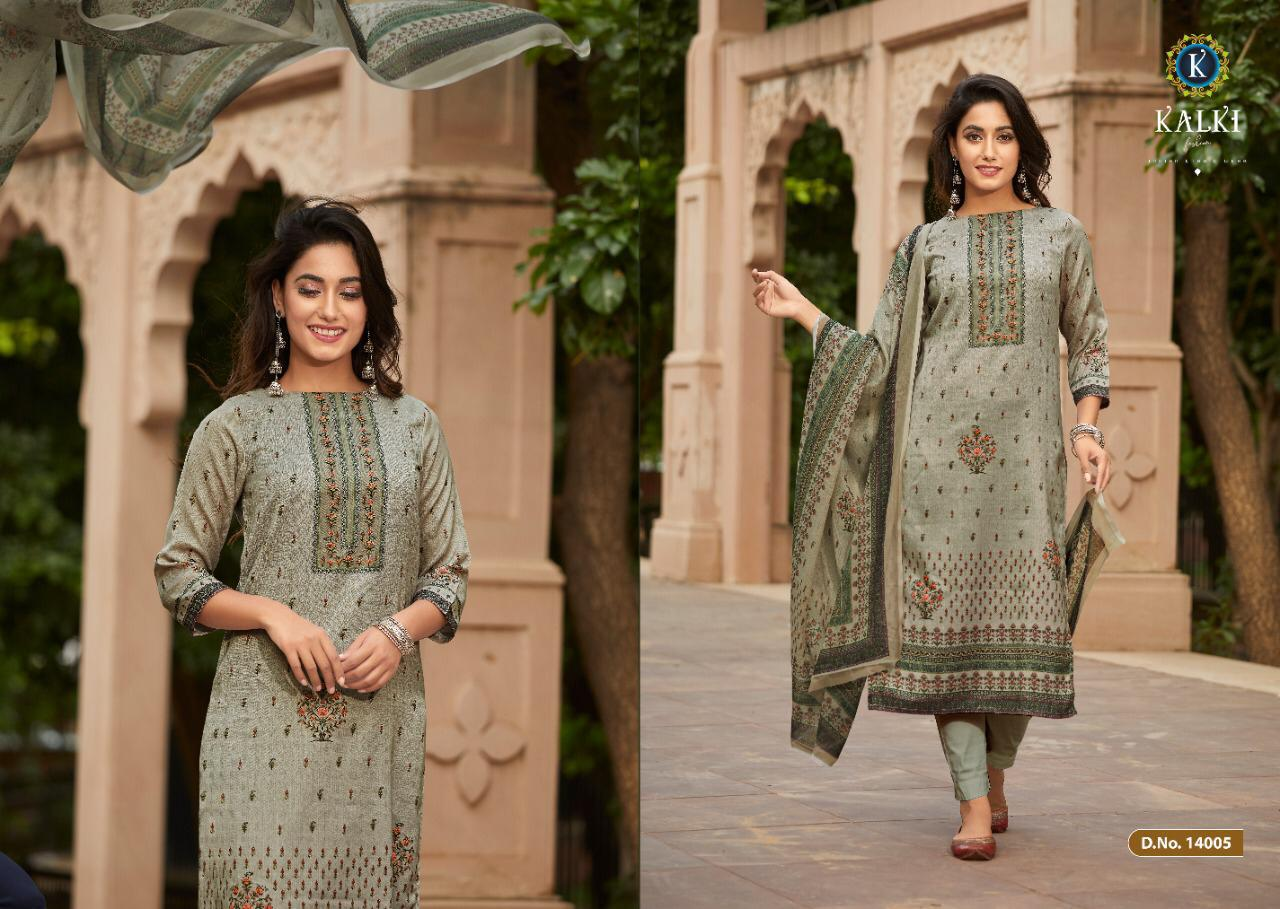 Kalki Shikara Pure Pashmina Designer Salwar Suit Collection collection 10