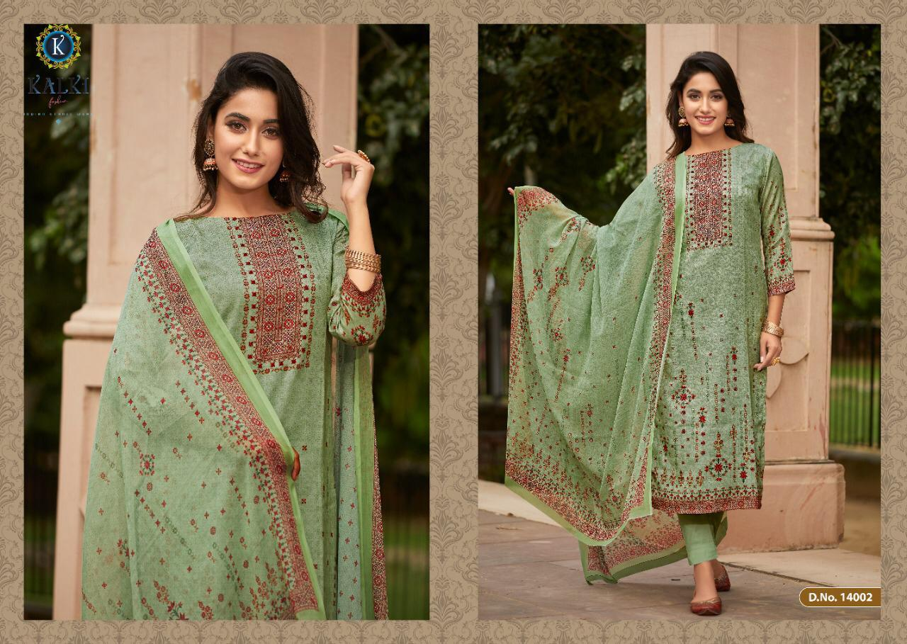Kalki Shikara Pure Pashmina Designer Salwar Suit Collection collection 5