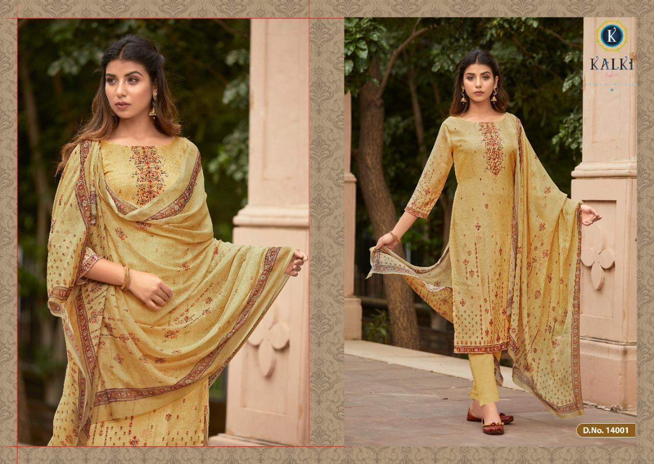 Kalki Shikara Pure Pashmina Designer Salwar Suit Collection collection 4