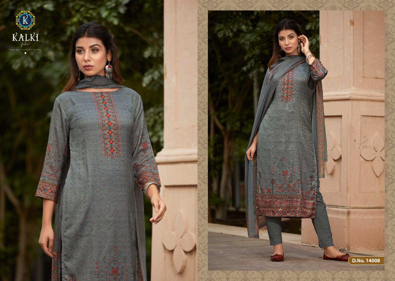 Kalki Shikara Pure Pashmina Designer Salwar Suit Collection collection 13
