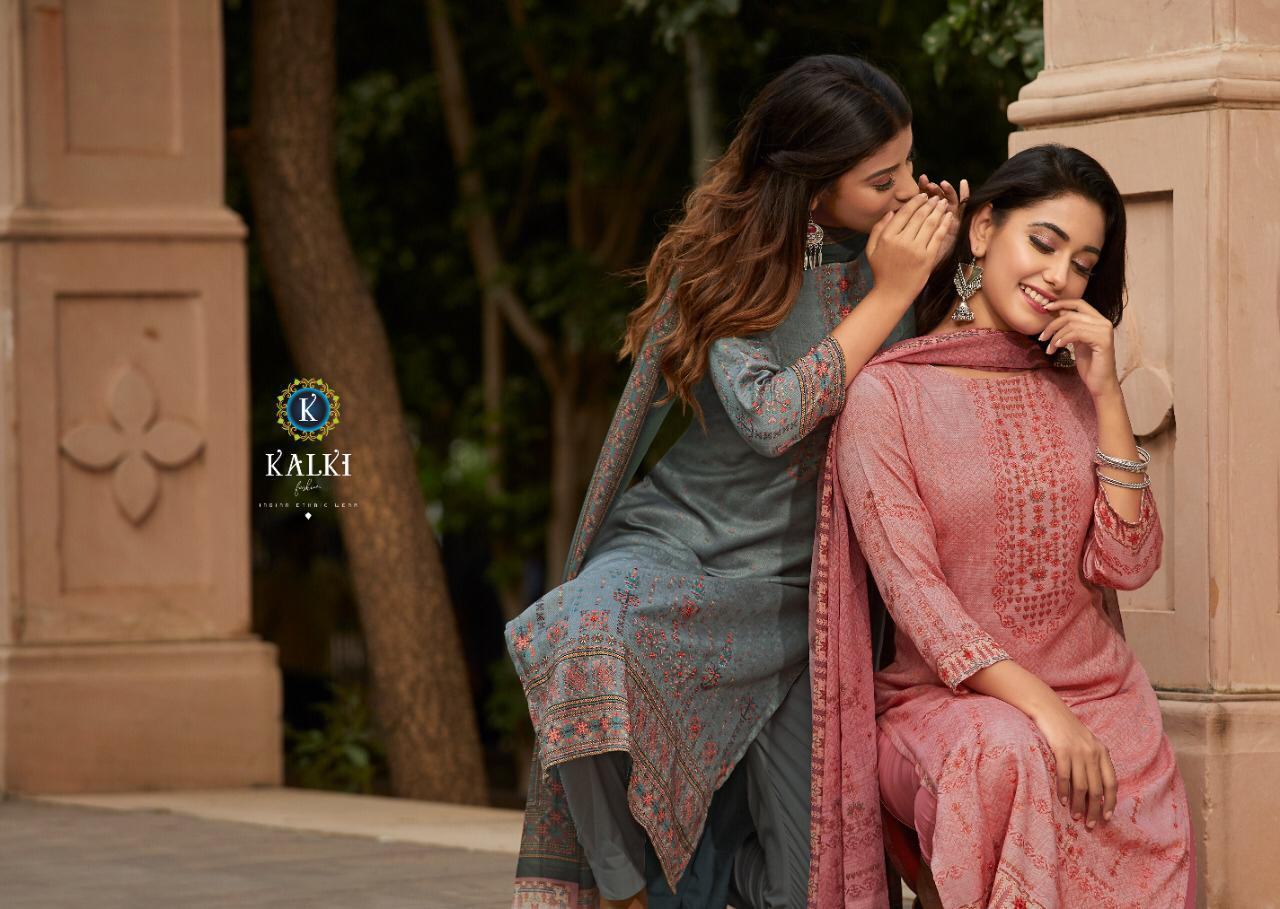 Kalki Shikara Pure Pashmina Designer Salwar Suit Collection collection 8