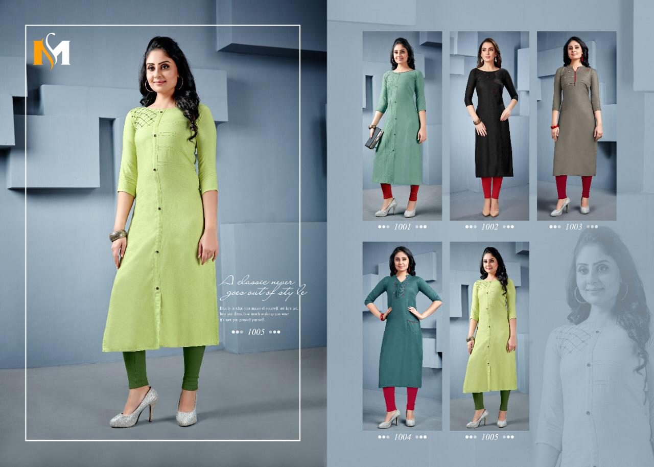 Meerali Swara Exclusive New Designer Kurtis Collection collection 1