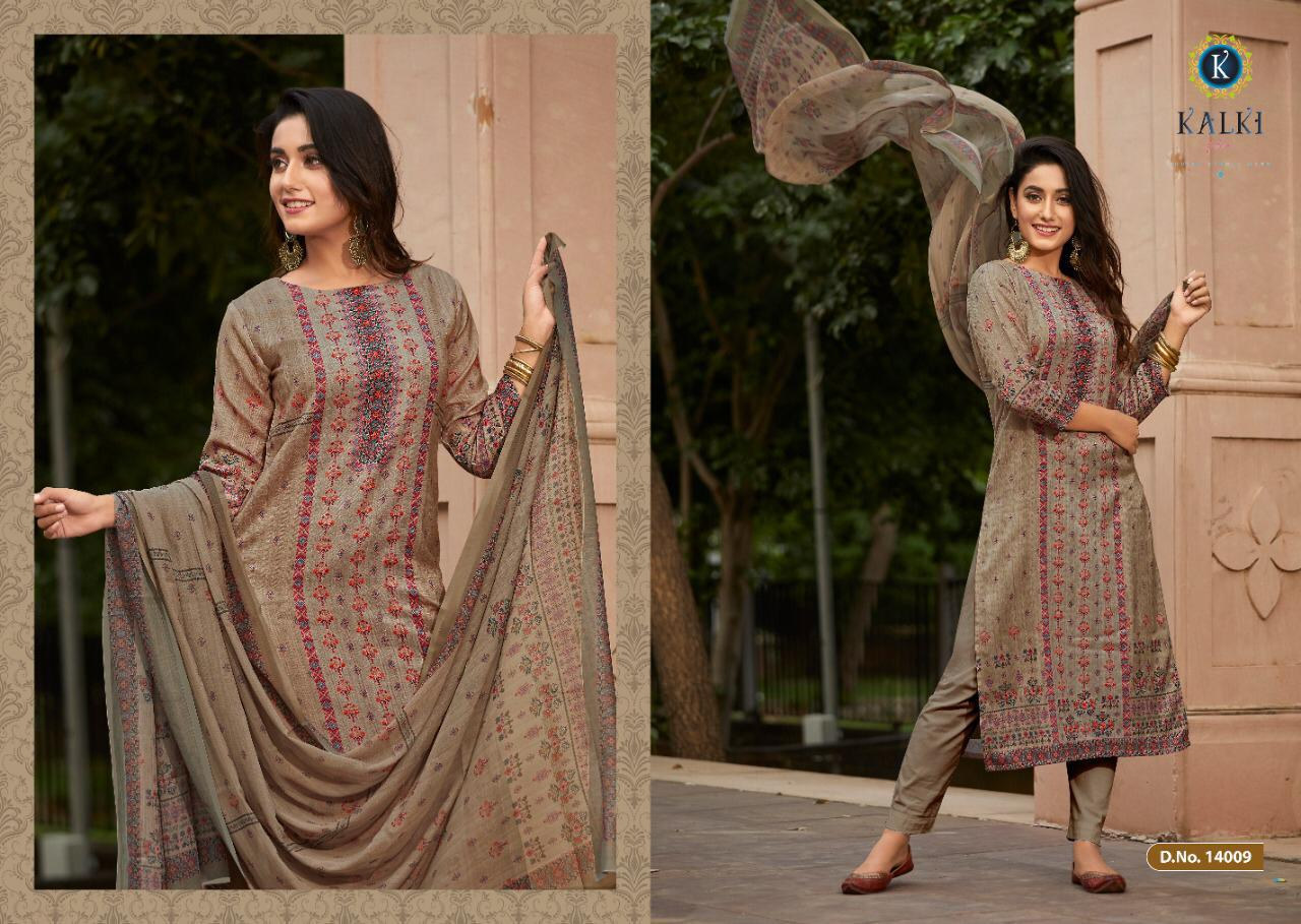 Kalki Shikara Pure Pashmina Designer Salwar Suit Collection collection 9