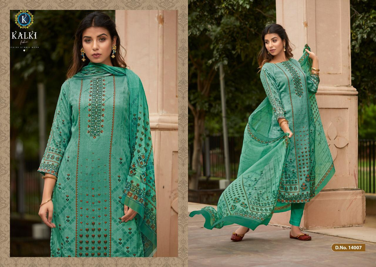 Kalki Shikara Pure Pashmina Designer Salwar Suit Collection collection 12