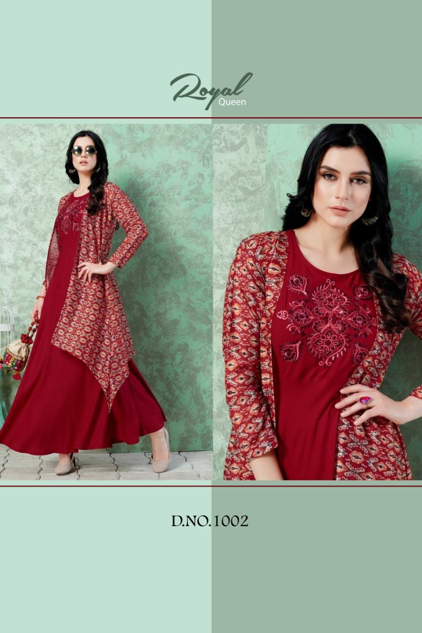 Vee Fab Elissa Vol 1 Rayon Designer Kurti Collection collection 4