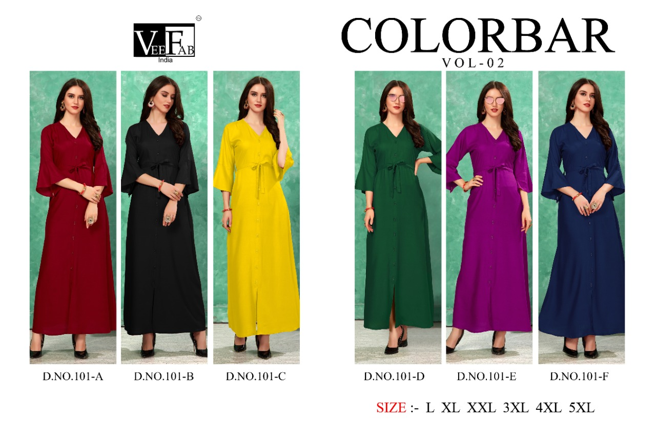 Vf India Colorbar 2 collection 5