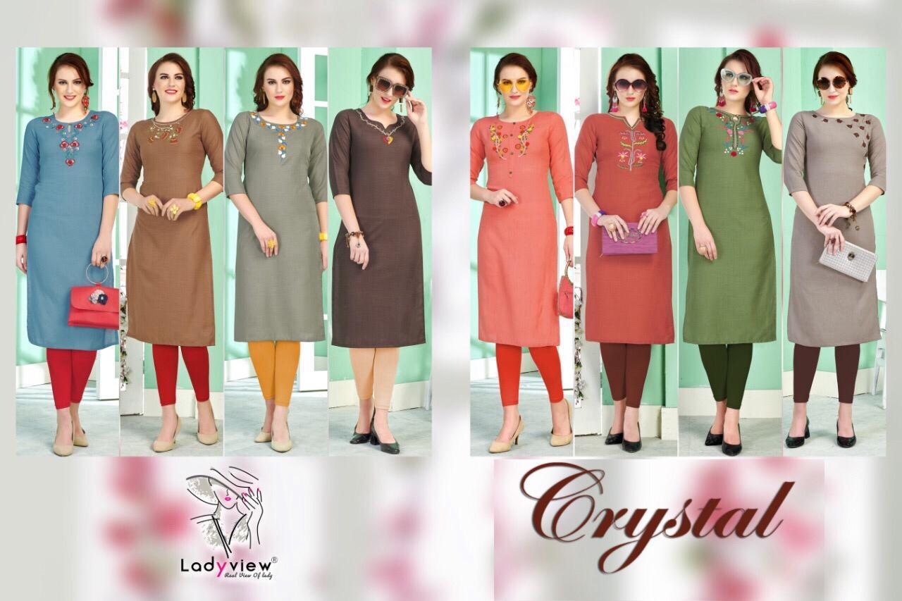Ladyview Crystal collection 9