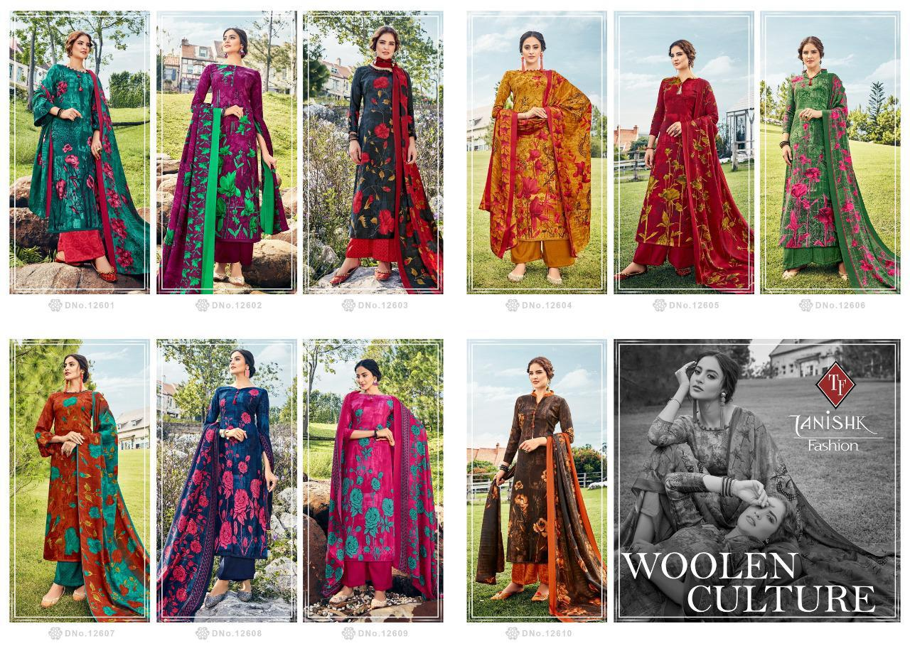 Tanishk Fashion Woolen Culture collection 11