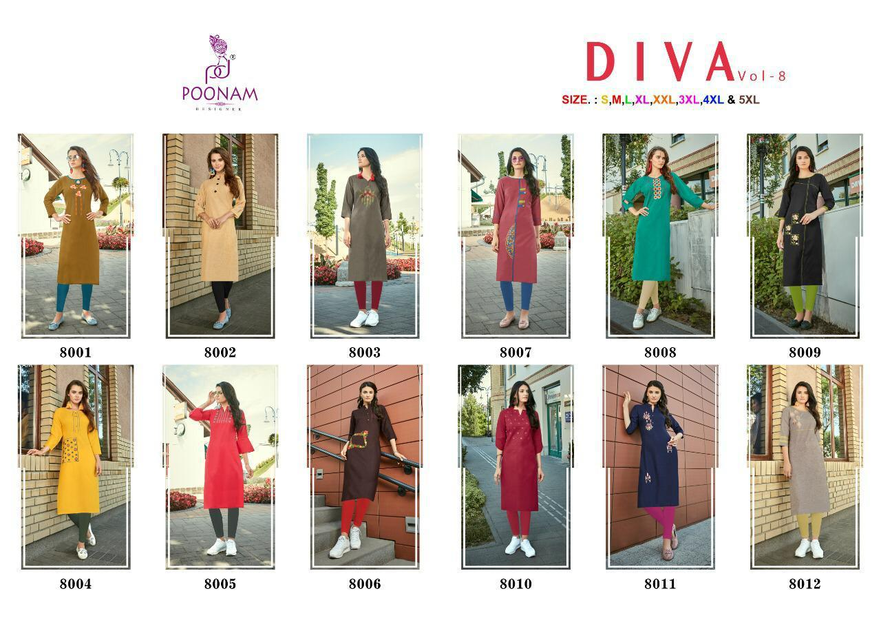 Poonam Diva Vol 8 collection 9