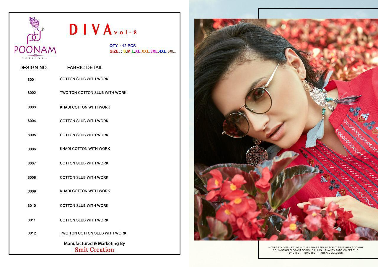 Poonam Diva Vol 8 collection 6