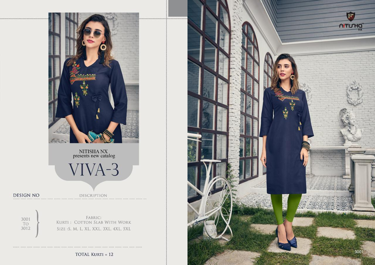 Nitisha Nx Viva Vol 3 collection 1
