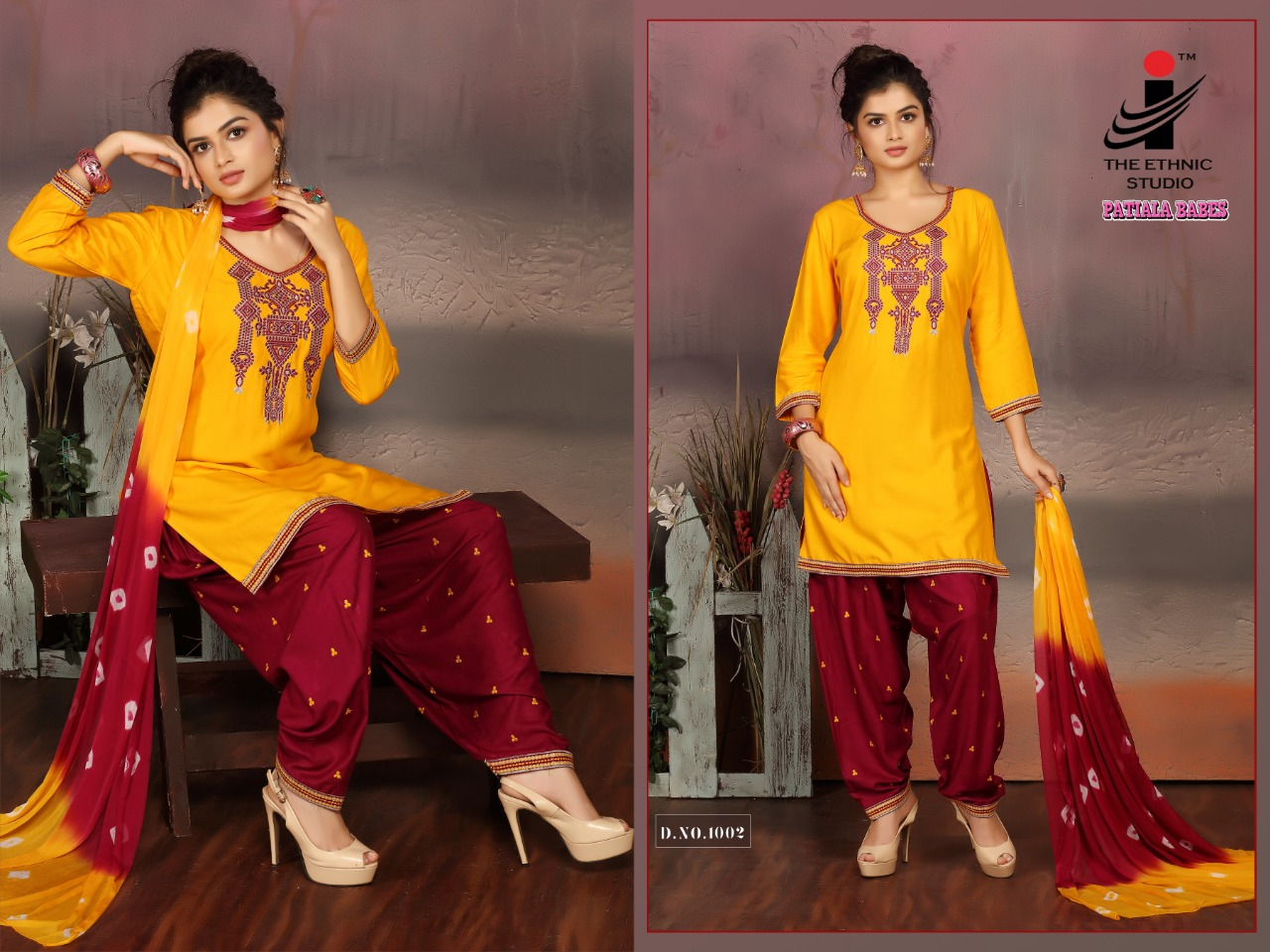 The Ethnic Studio Patiyala Babes collection 1