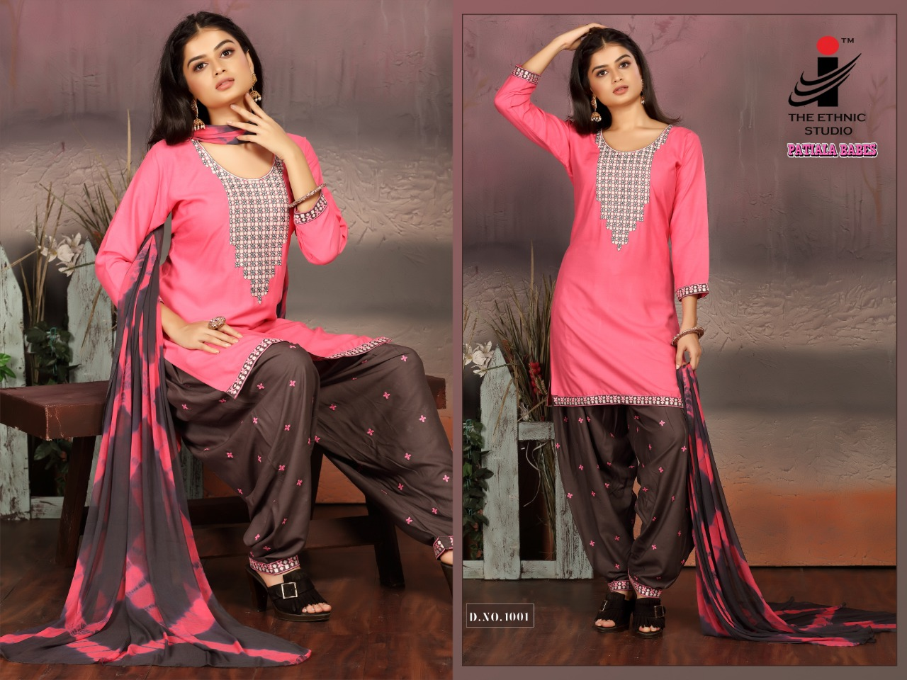 The Ethnic Studio Patiyala Babes collection 2