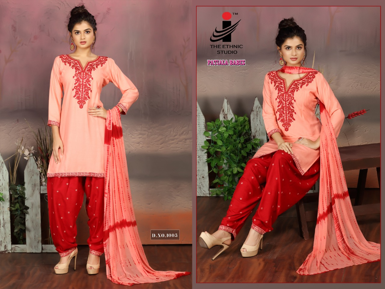 The Ethnic Studio Patiyala Babes collection 8