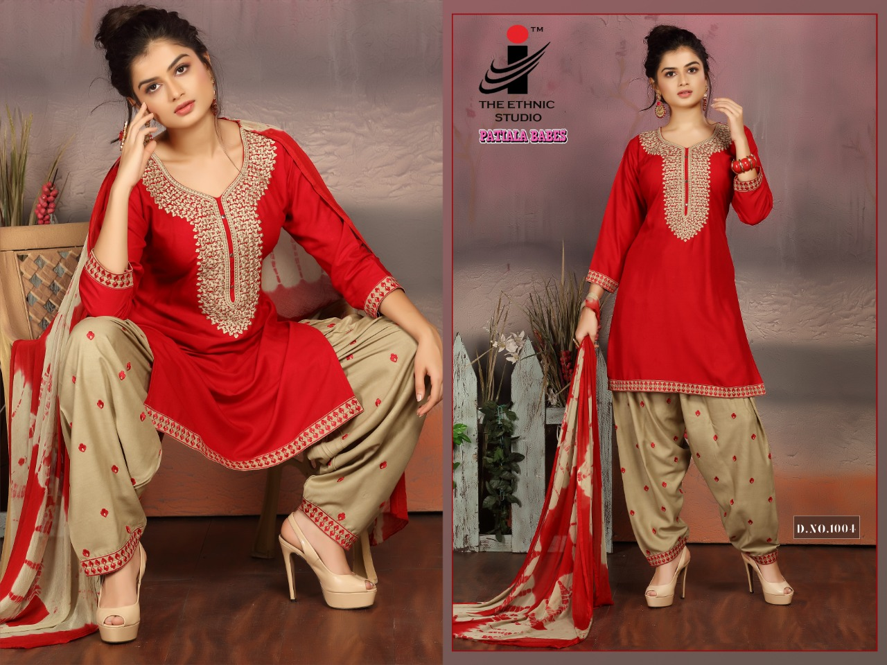 The Ethnic Studio Patiyala Babes collection 6