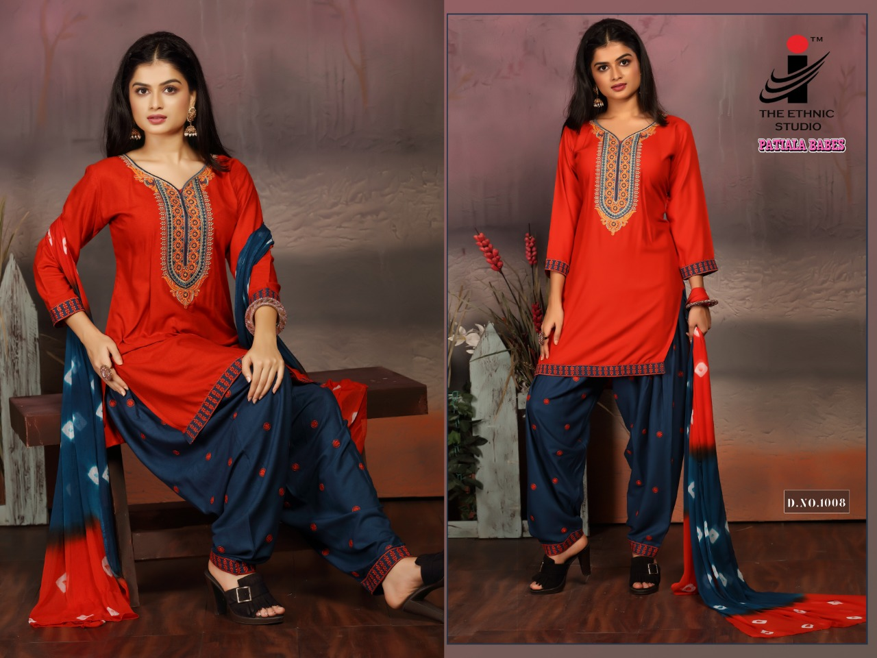 The Ethnic Studio Patiyala Babes collection 3
