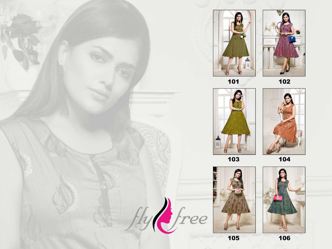 Fly Free Preeto Maslin Silk New Designer Kurti Collection collection 7