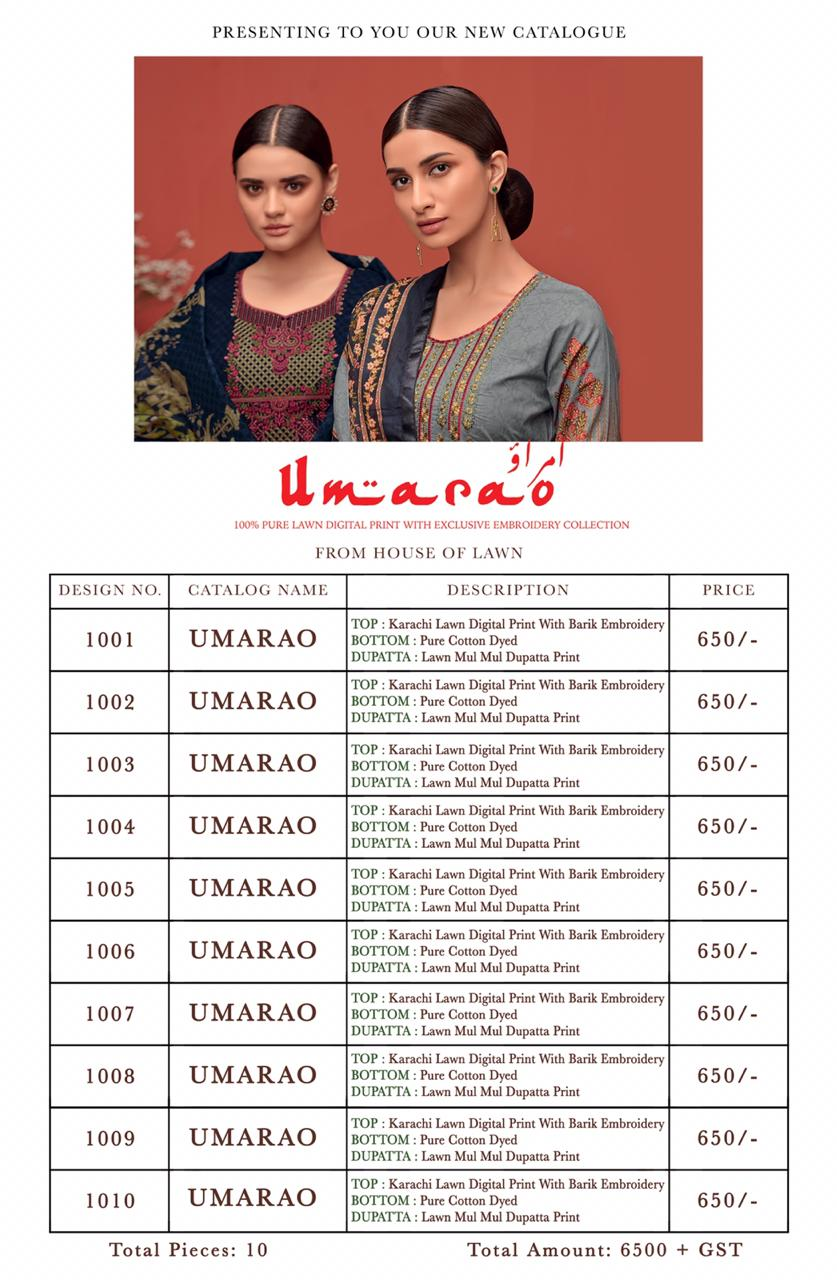 House Of Lawn Umarao collection 12