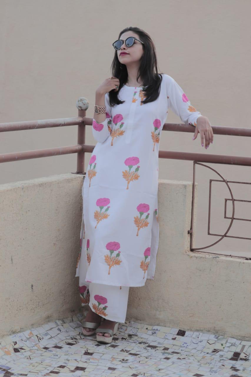 Rutba Kurti Plazzo Set 2 collection 4