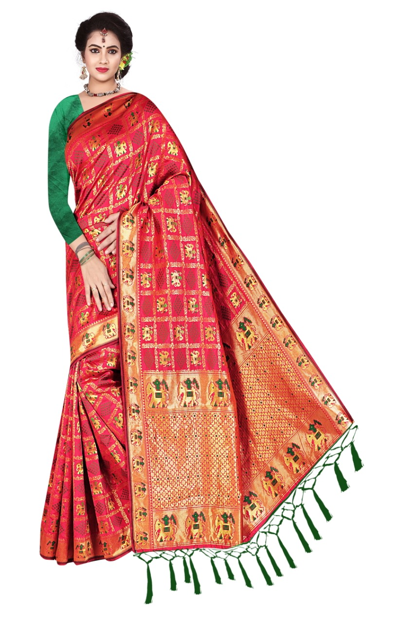 New Designer Vol 8 Banarasi Jacquard Saree Collection collection 5