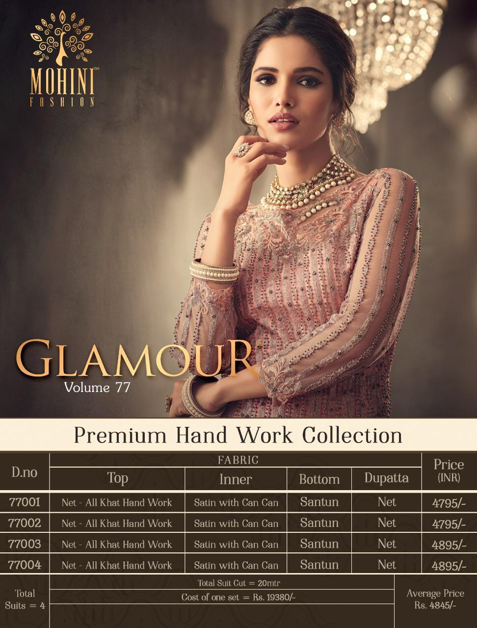Mohini Glamour Vol 77 collection 7