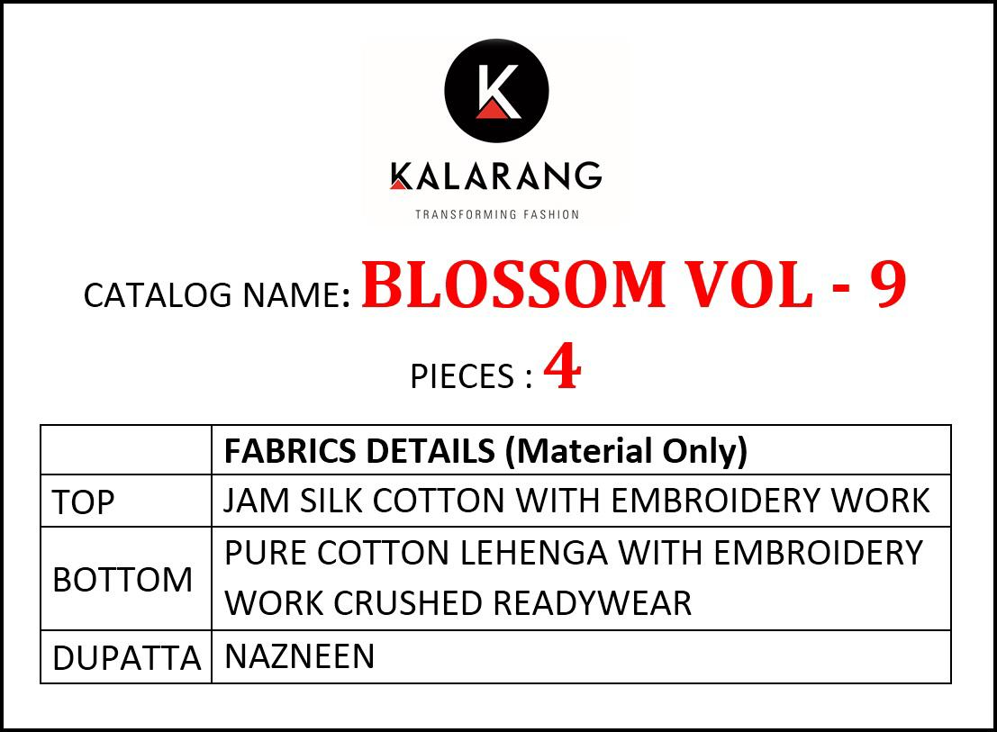 Kalarang Blossom 9 collection 4