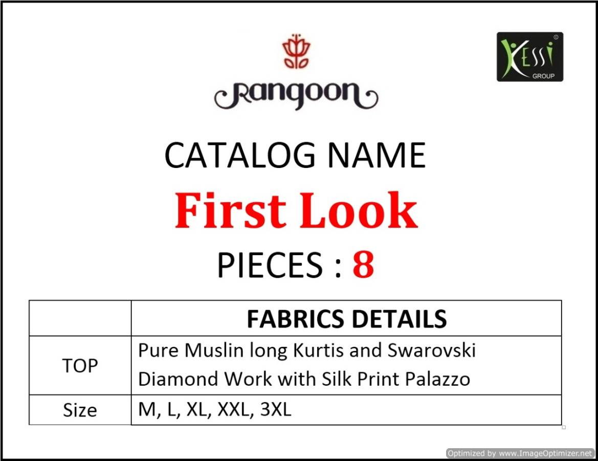 Rangoon First Look collection 3