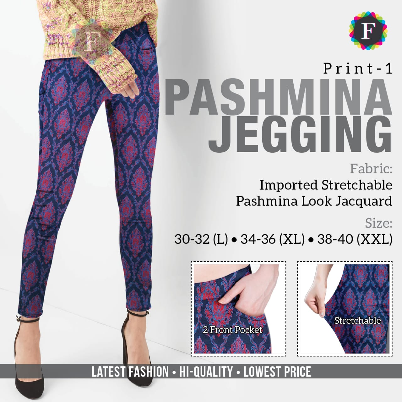 Pashmina Jeggings collection 1
