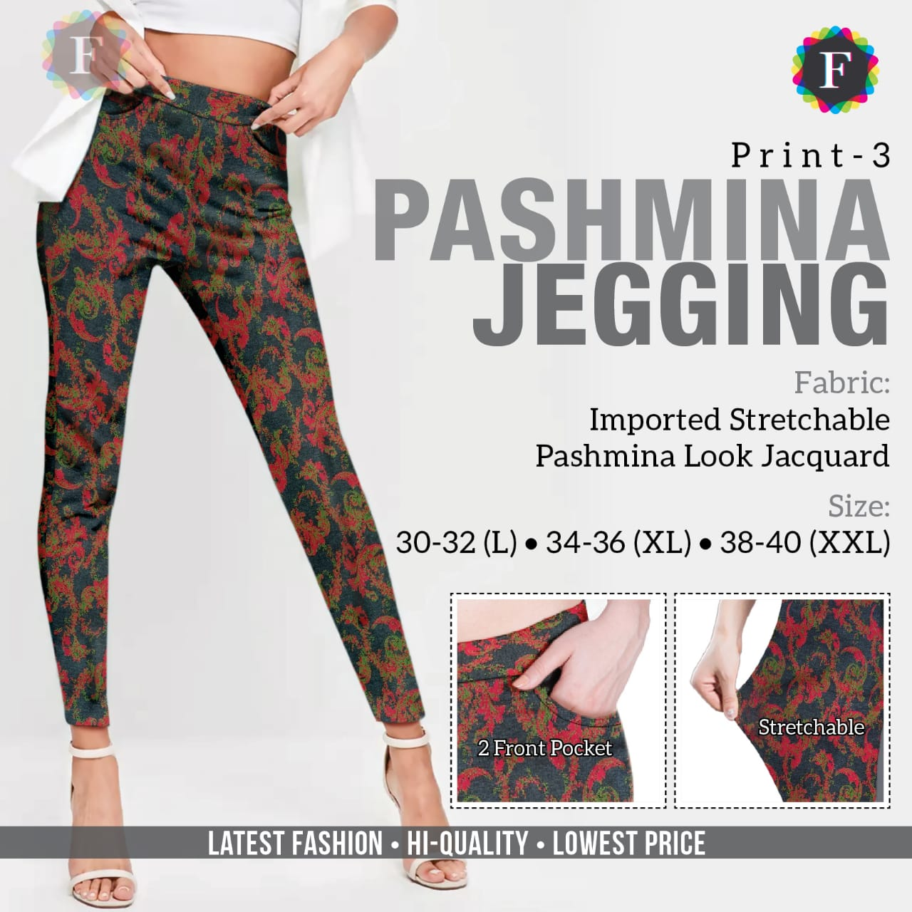 Pashmina Jeggings collection 3