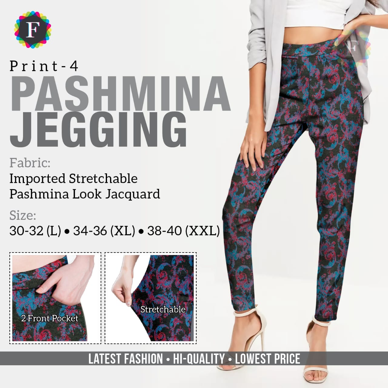 Pashmina Jeggings collection 2