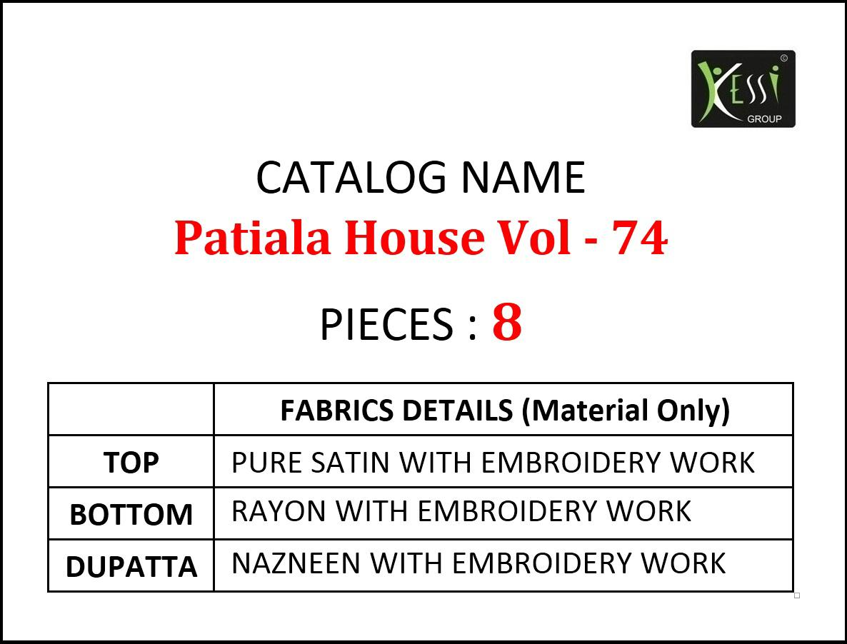 Kessi Patiala House 74 collection 9