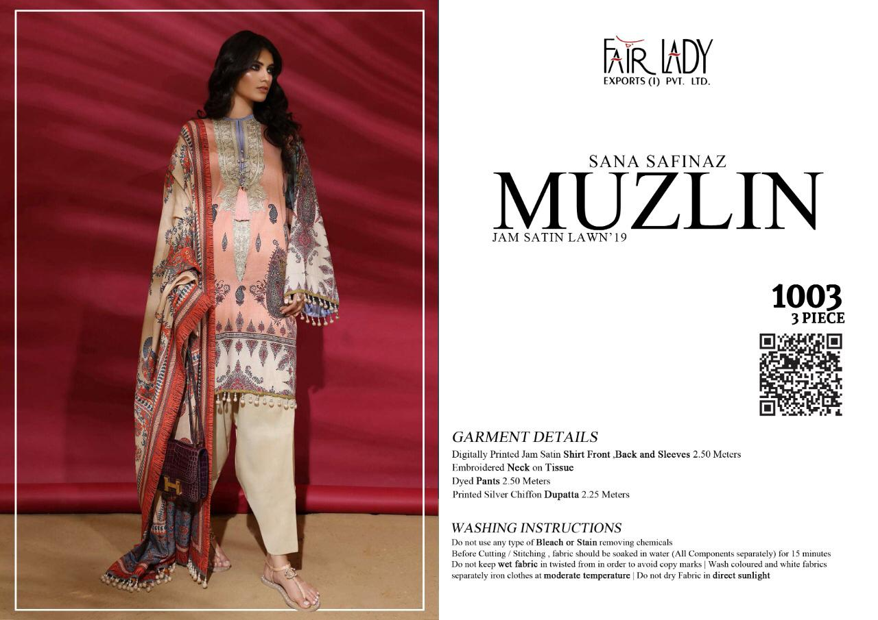 Mumtaz Art Fair Lady Muzlin collection 12