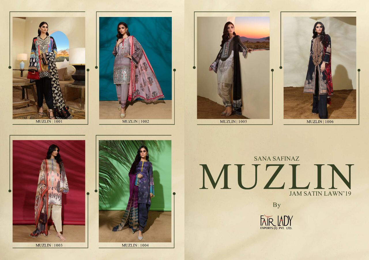 Mumtaz Art Fair Lady Muzlin collection 9