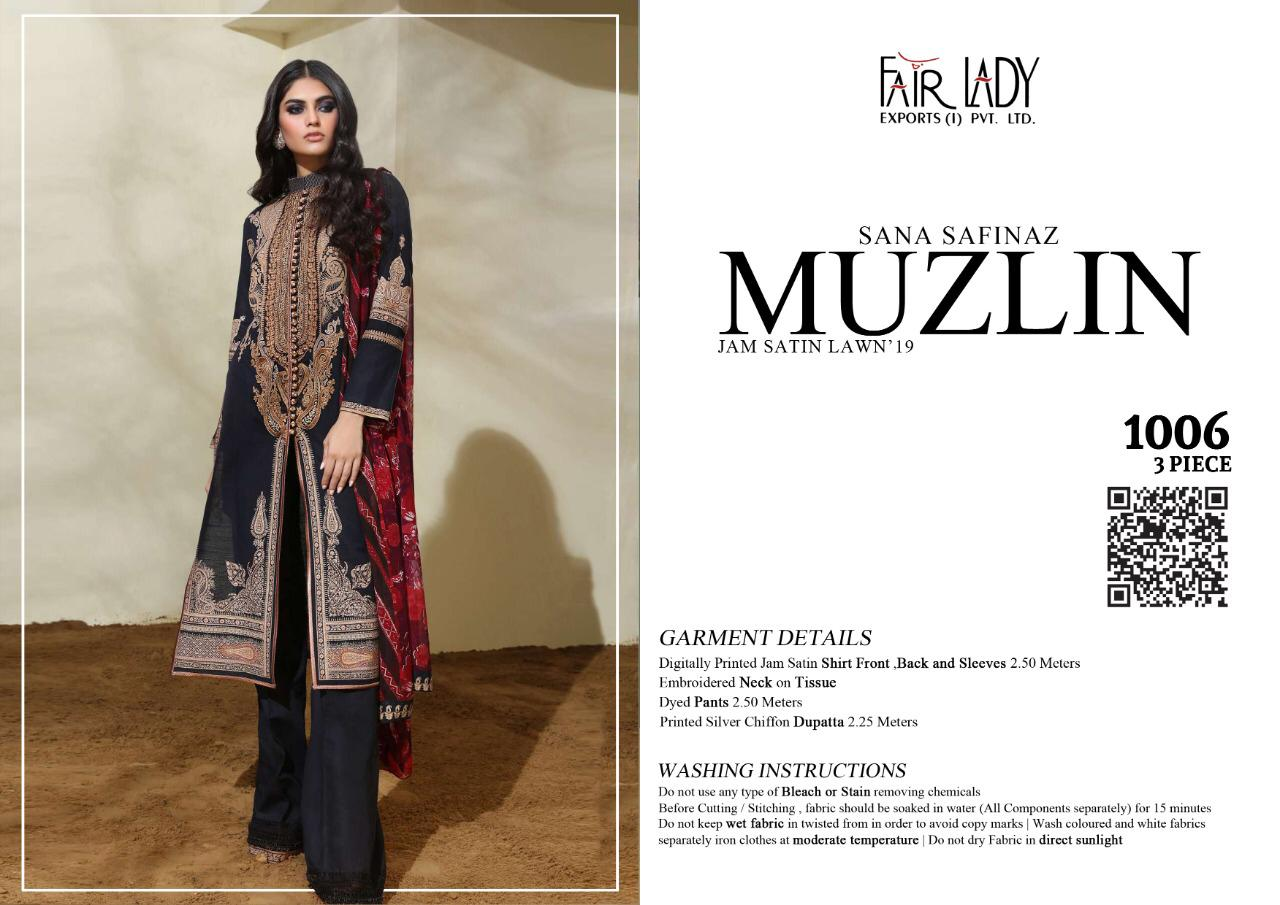 Mumtaz Art Fair Lady Muzlin collection 1