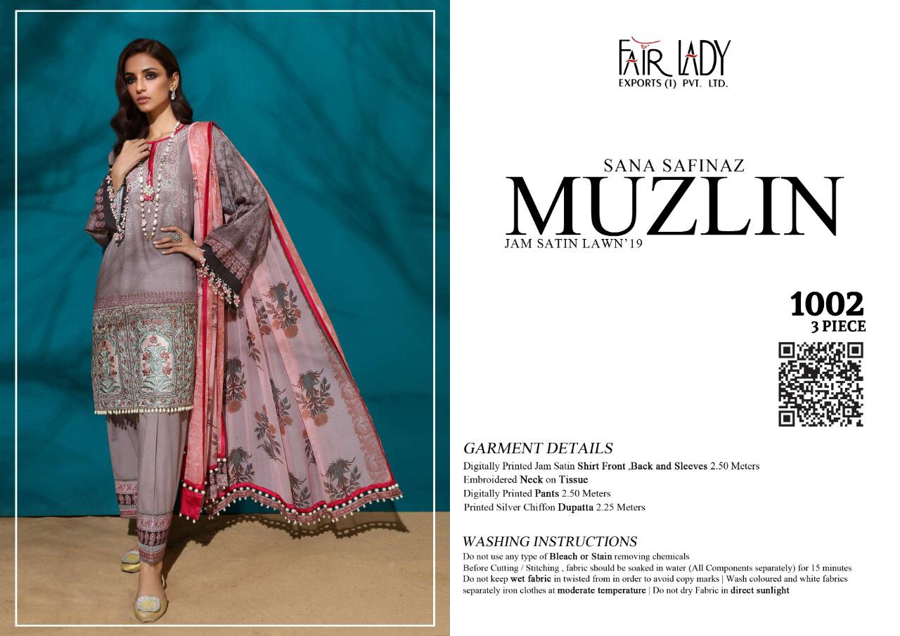 Mumtaz Art Fair Lady Muzlin collection 10