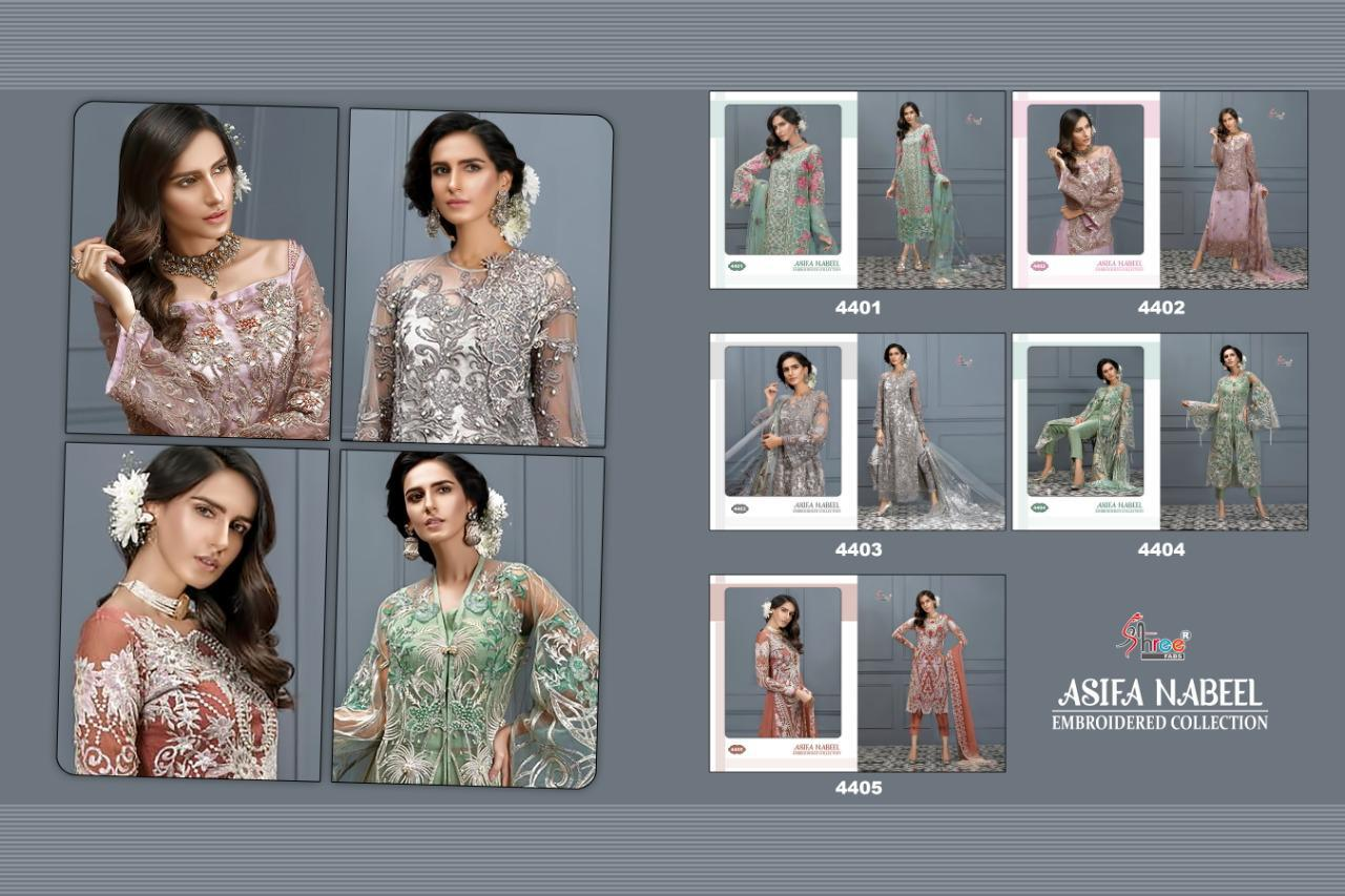Shree Fab Asifa Nabeel collection 3