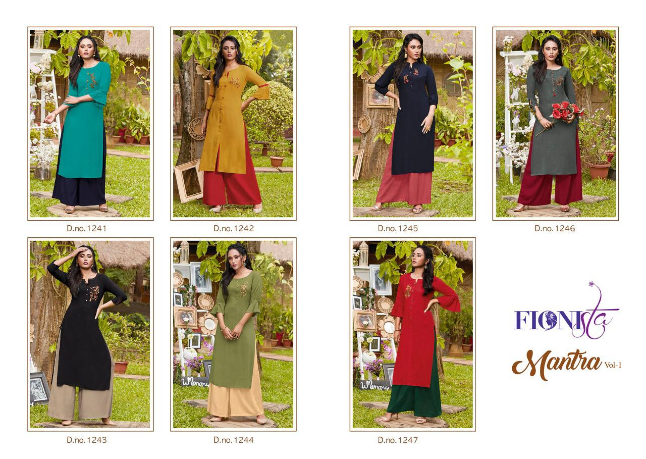 Fionista Mantra collection 3