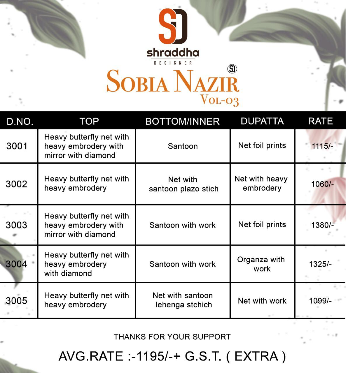 Sd Sobia Nazir Vol 3 collection 1