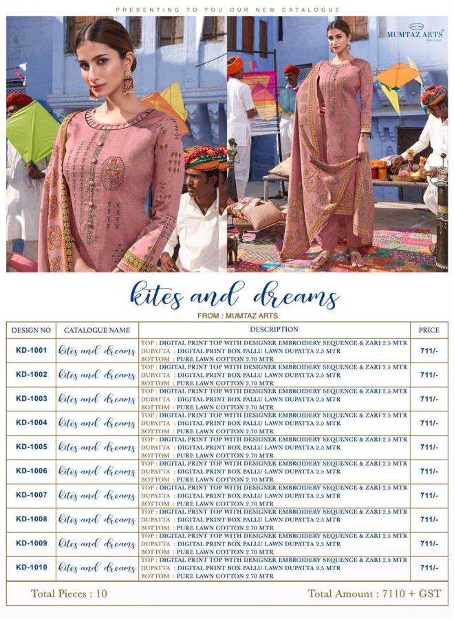 Mumtaz Kites And Dreams collection 10