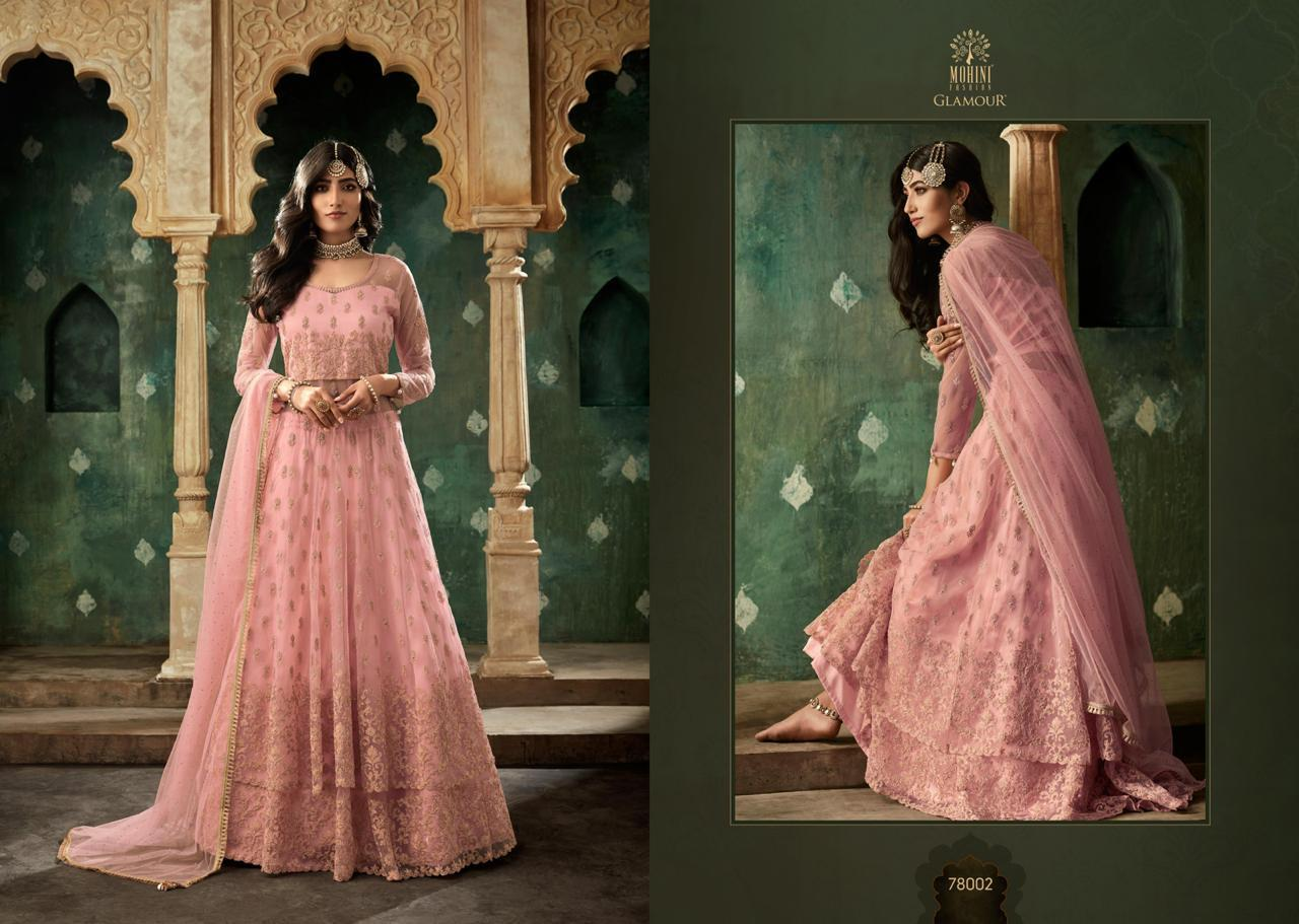 Mohini Glamour 78 Light Pink collection 1