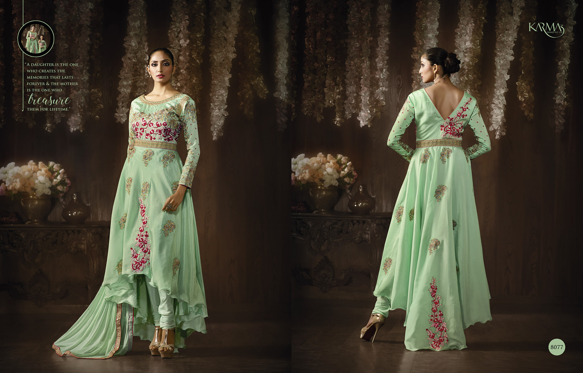 Designer Exclusive Apple Green collection 1