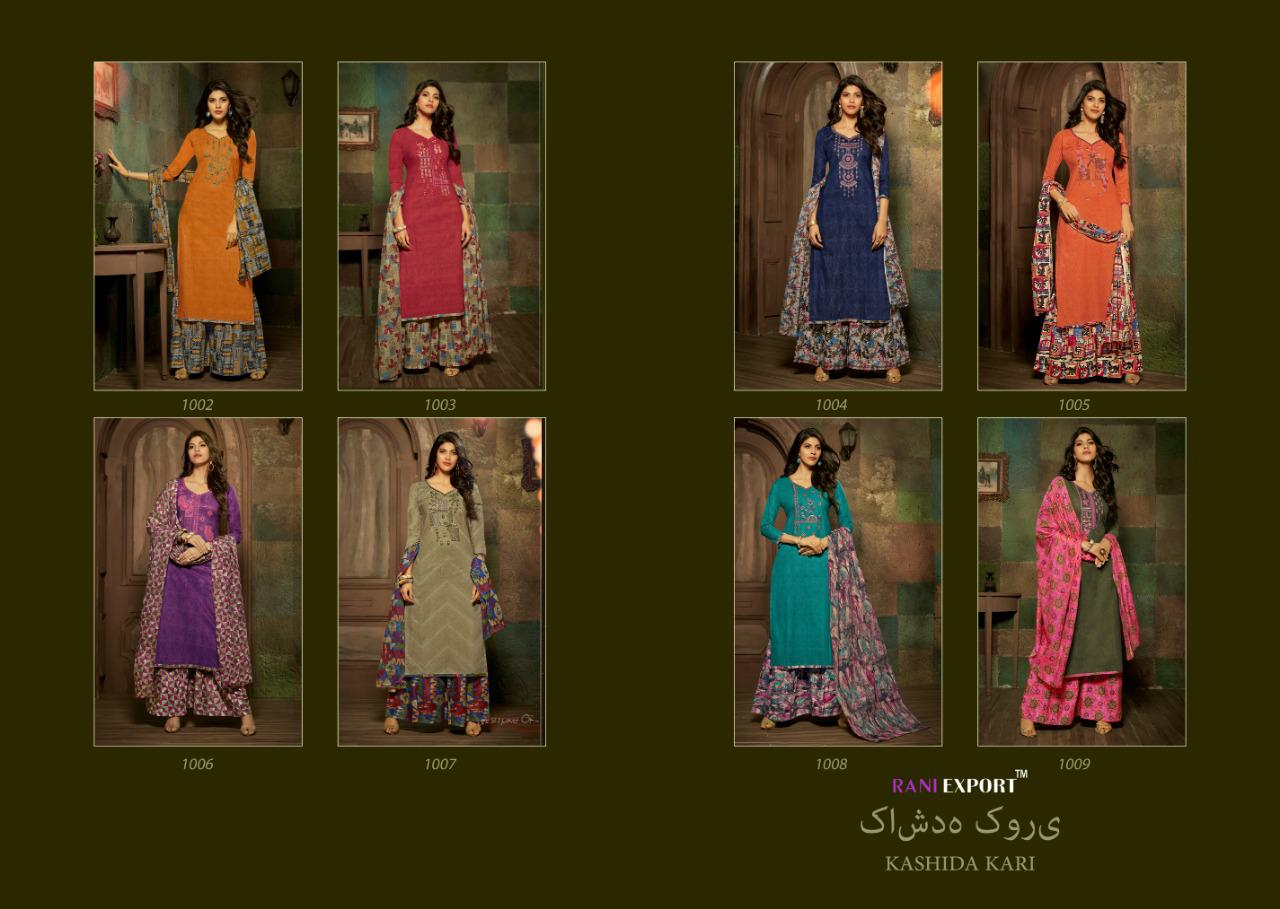 Rani Export Kashida Kari collection 9