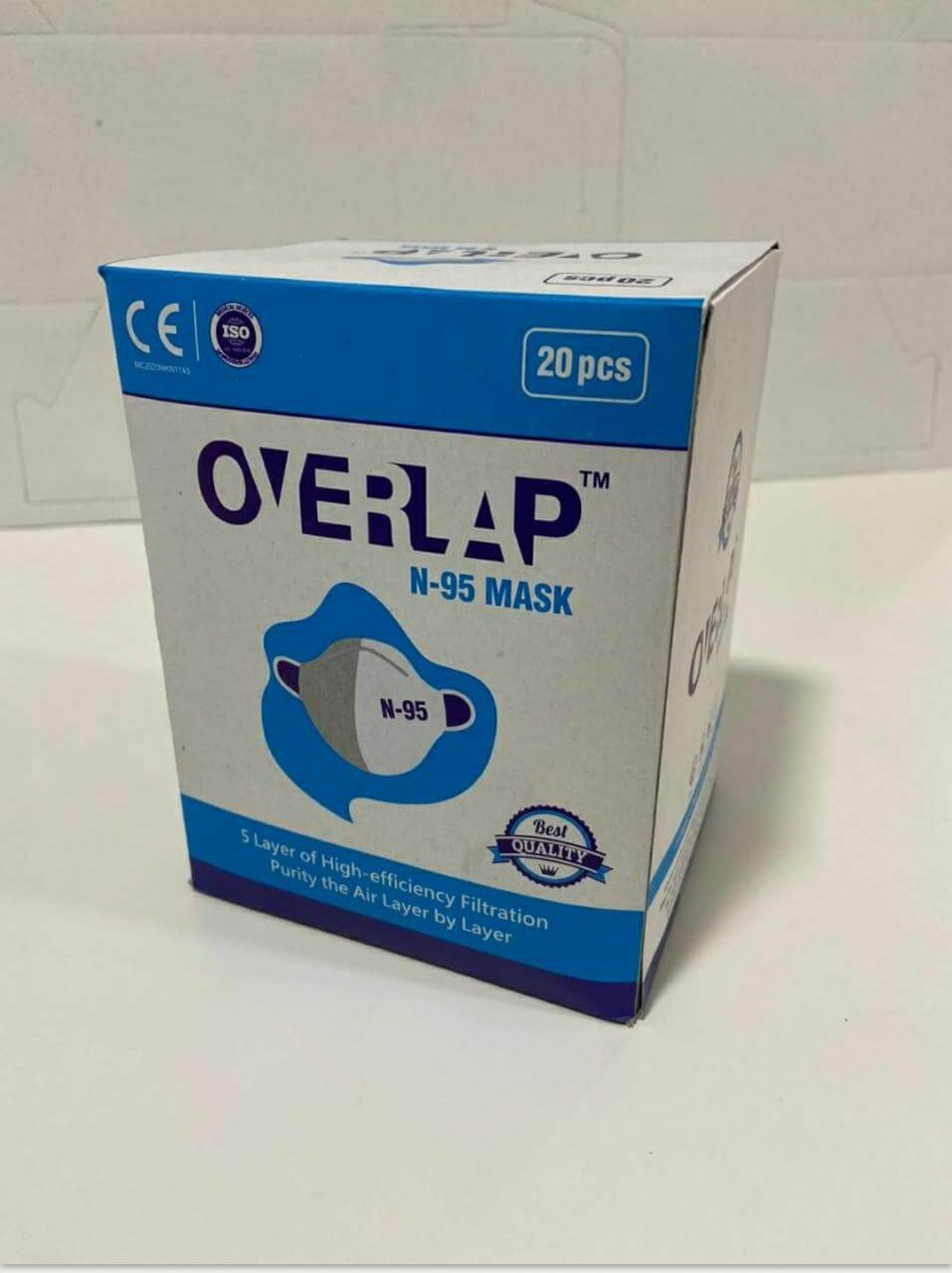 Overlap N95 Mask collection 1