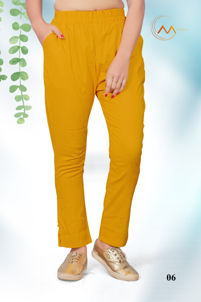 Mansi Fashion Lycra Pant collection 6